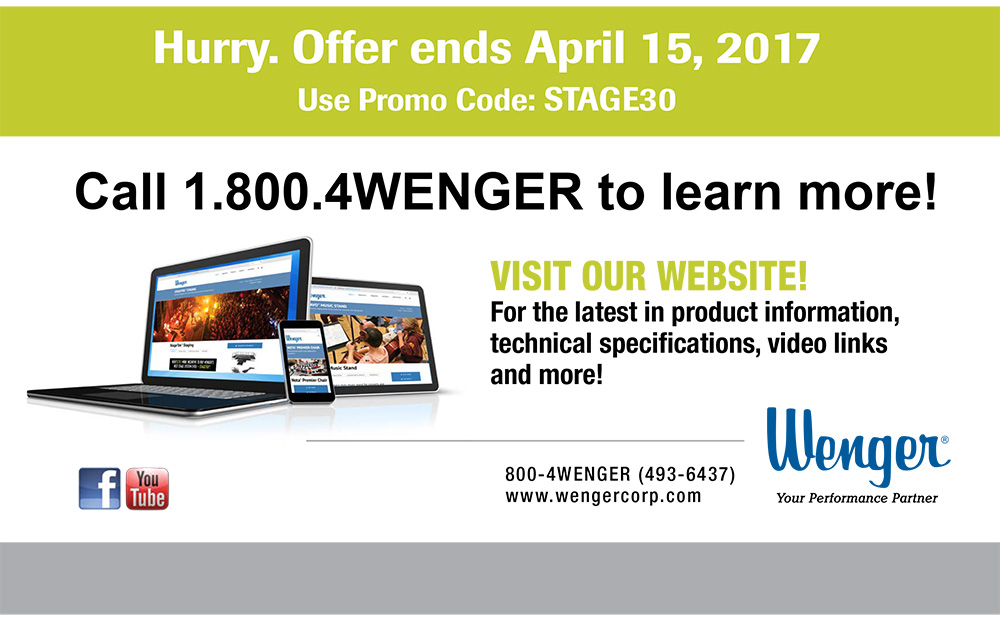 Hurry - offer ends April 15, 2017