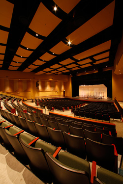 Performance Space Acoustical Treatments Wenger Corporation