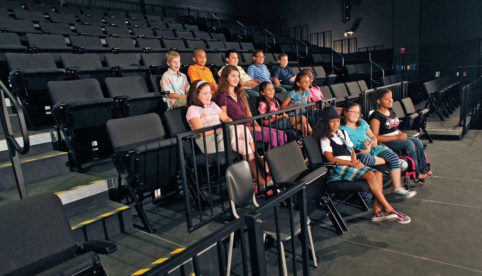 portable audience chairs