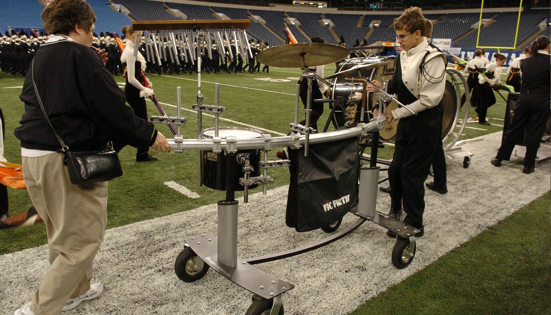 onboard percussion cart. Black Bedroom Furniture Sets. Home Design Ideas