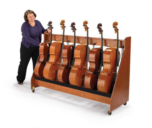 Cello Rack