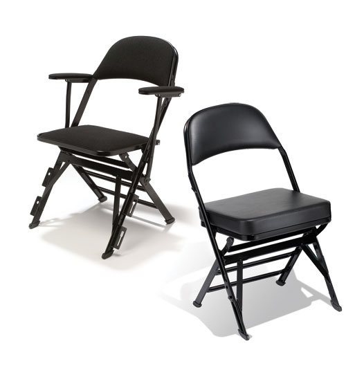 High-Density Portable Audience Chairs by Clarin®