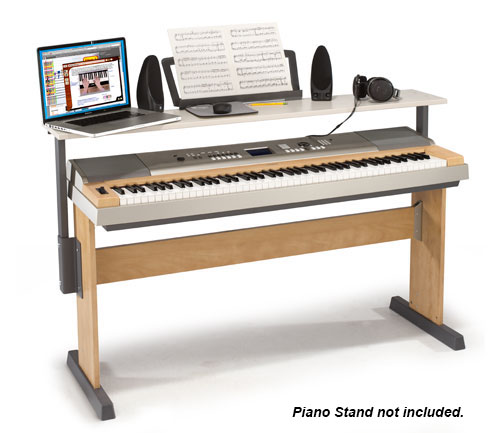 Piano Keyboard Workstation Desk : piano work desk wenger corporation ~ Vivirlamusica.com Haus und Dekorationen
