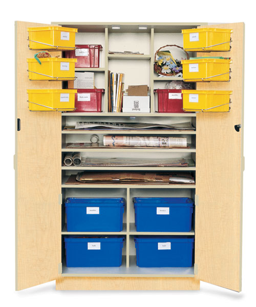 Poster Teaching Storage Cabinet