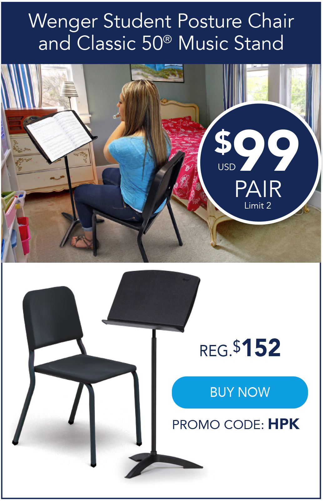 Student Chair Offer
