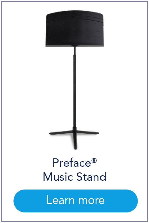 Preface® Music Stand