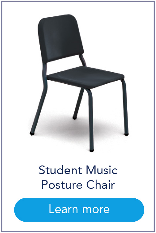 Student Music Posture Chair