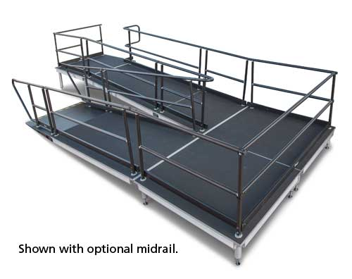 Disability Portable Handrails : Portable ada compliant disability ramp wenger corporation