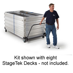 StageTek Horizontal Storage Cart
