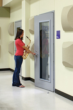 Pre-Engineered Acoustical Doors & Pre-Engineered Acoustical Doors - Wenger Corporation