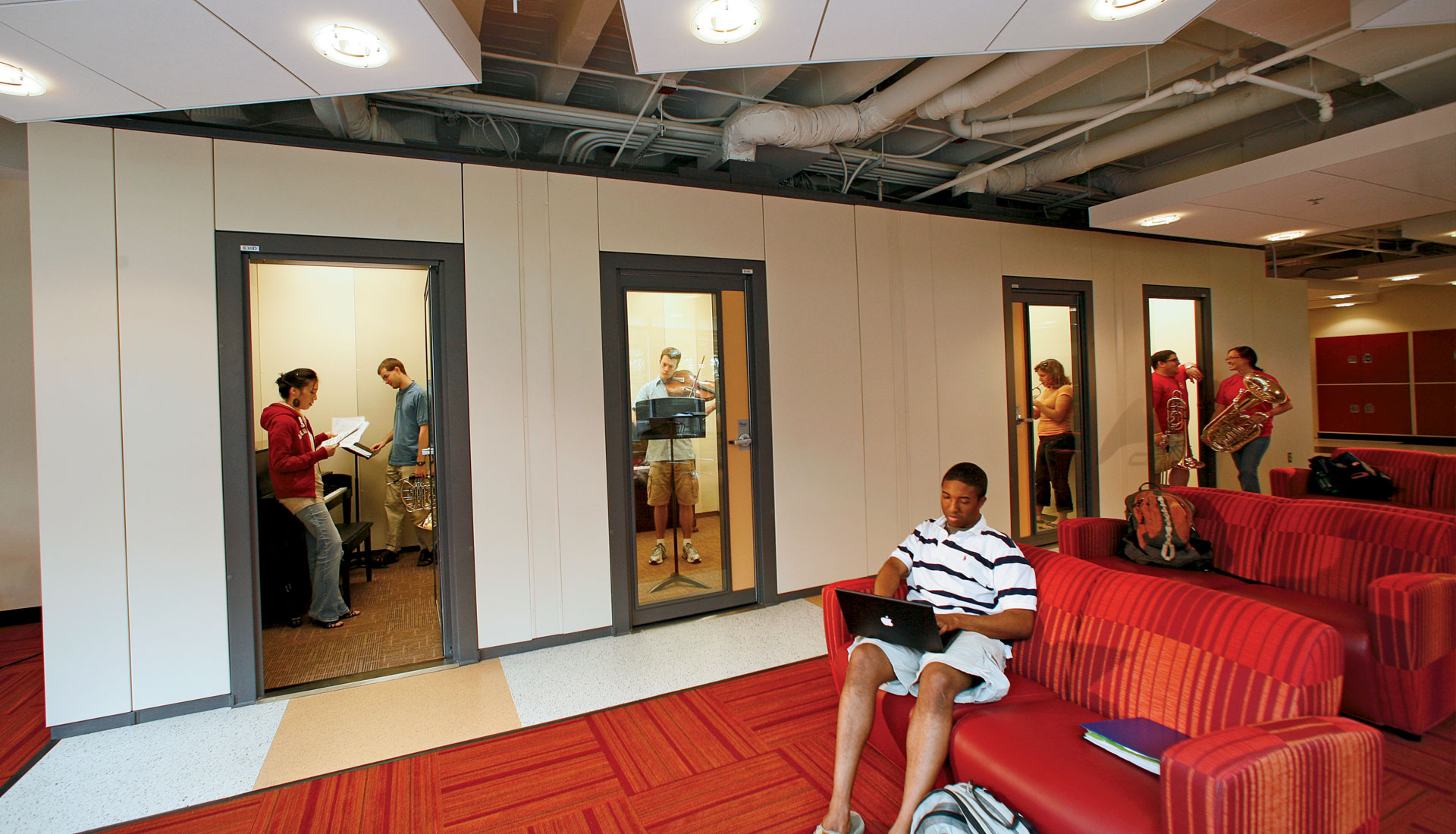 SoundLok® Sound-Isolation Rooms - Wenger Corporation