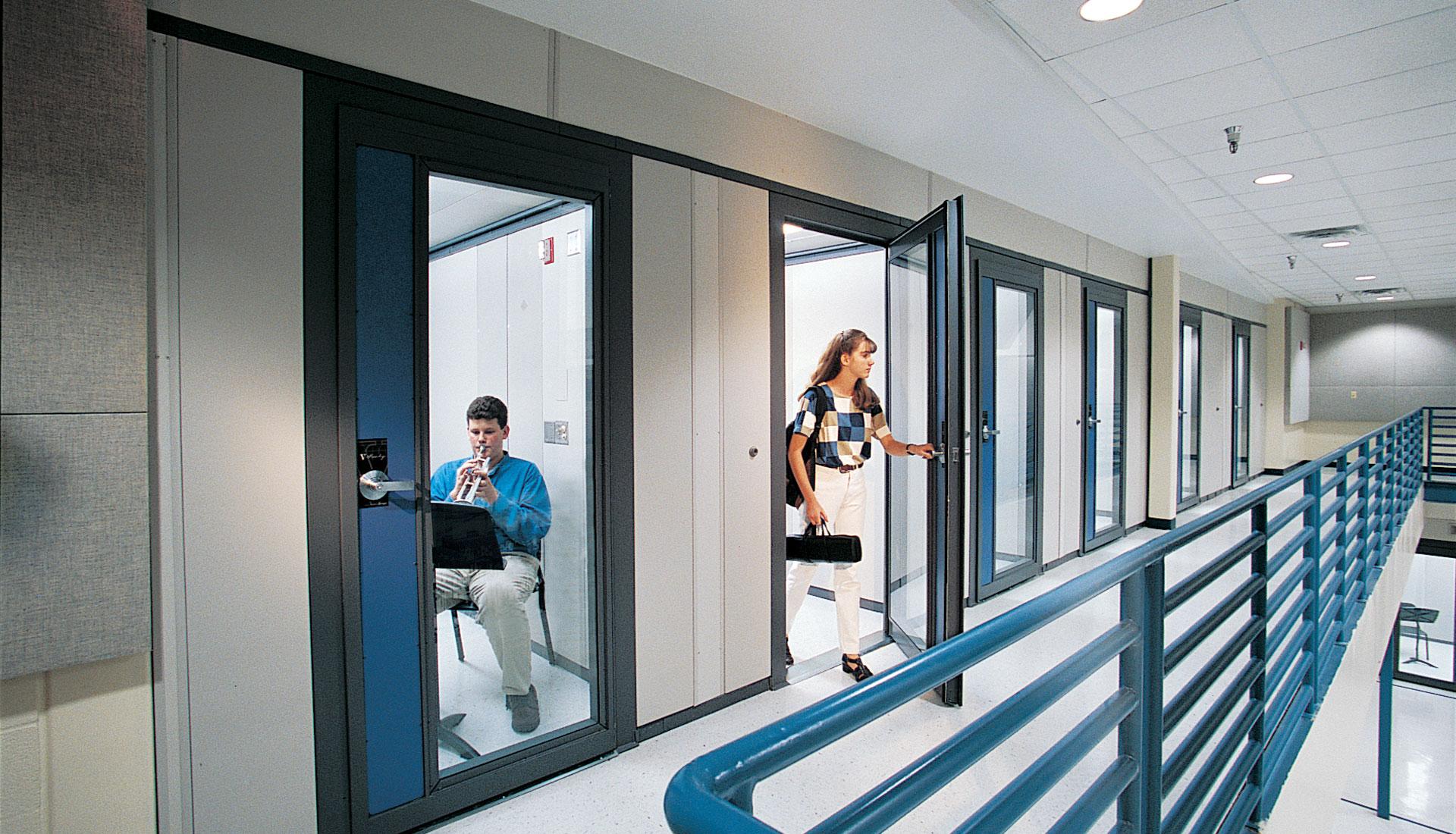 Soundlok 174 Sound Isolation Rooms Wenger Corporation