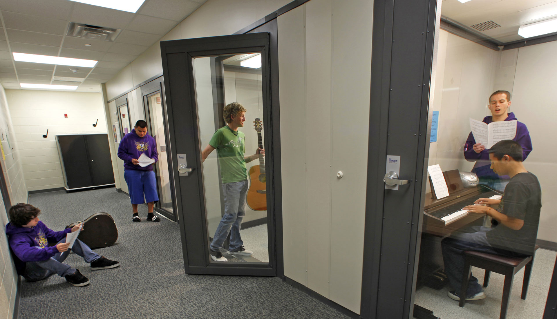SoundLok® Sound-Isolation Rooms - Wenger Corporation