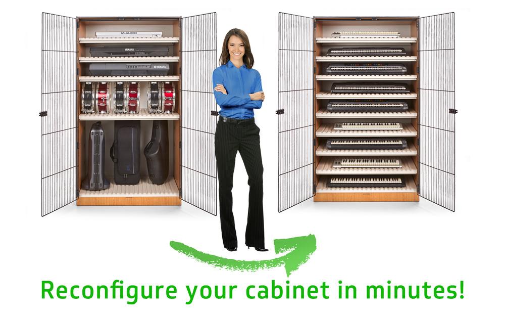New Adjustable Shelf Storage