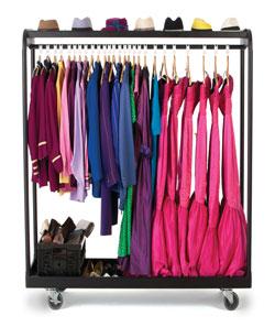 Rack N Roll 174 Garment Rack Wenger Corporation
