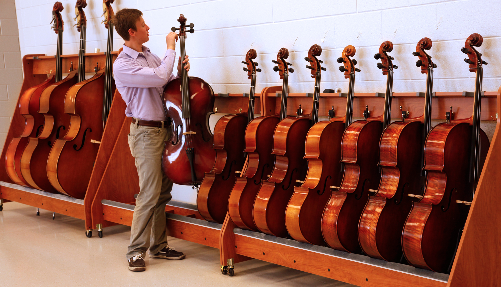 Cello Rack Wenger Corporation