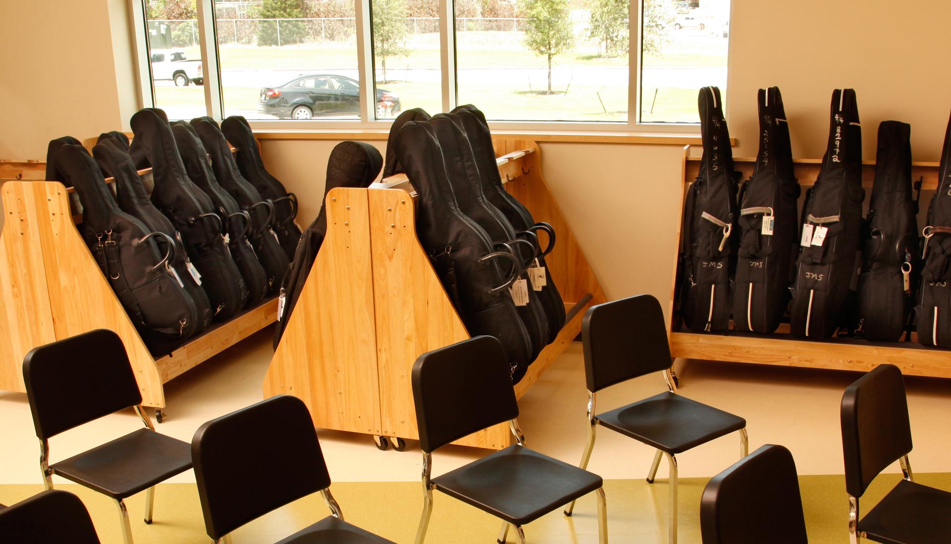 cello rack