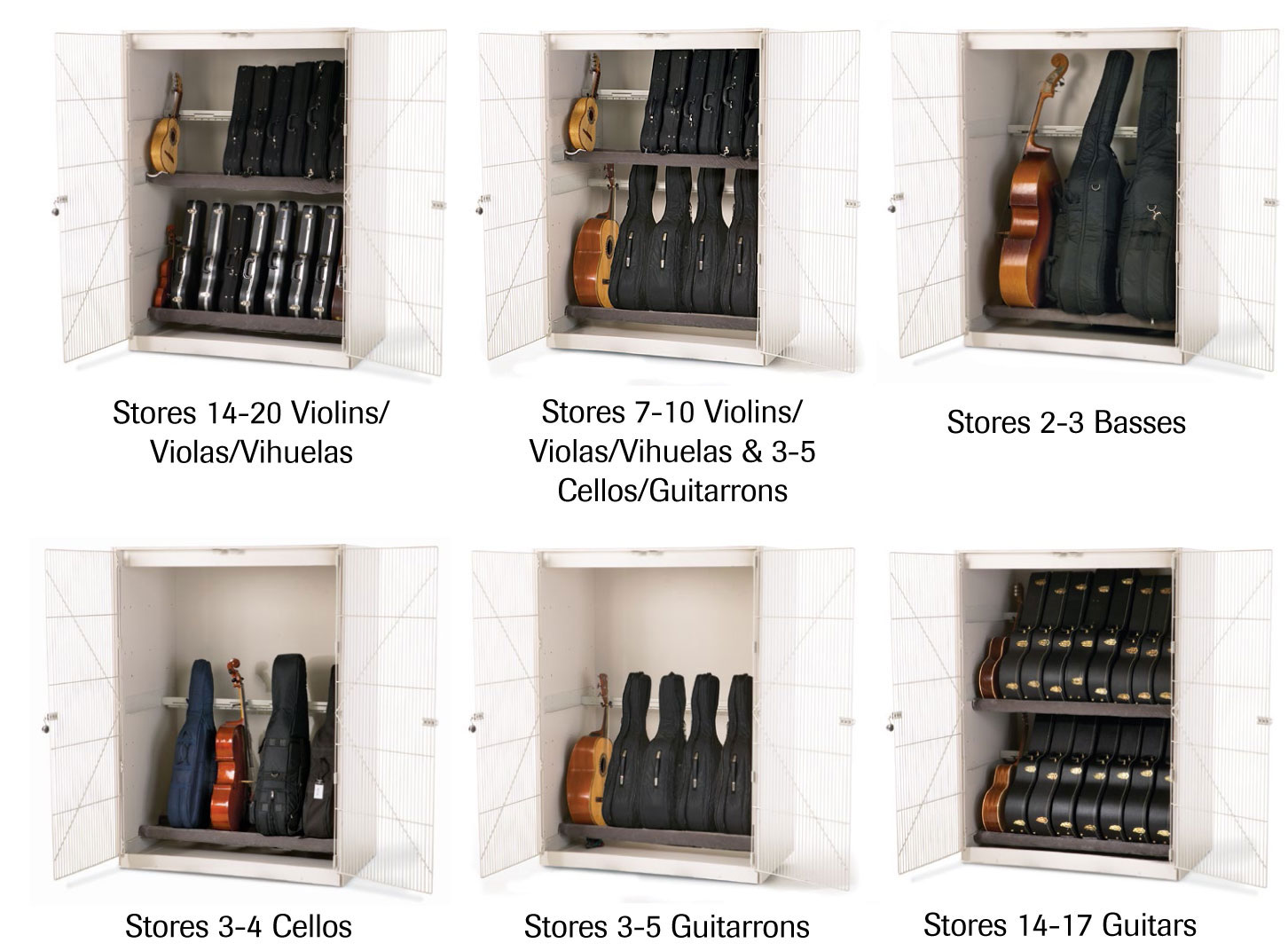 Stringed Instrument Cabinet