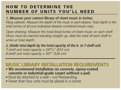 Music Library System Wenger Corporation