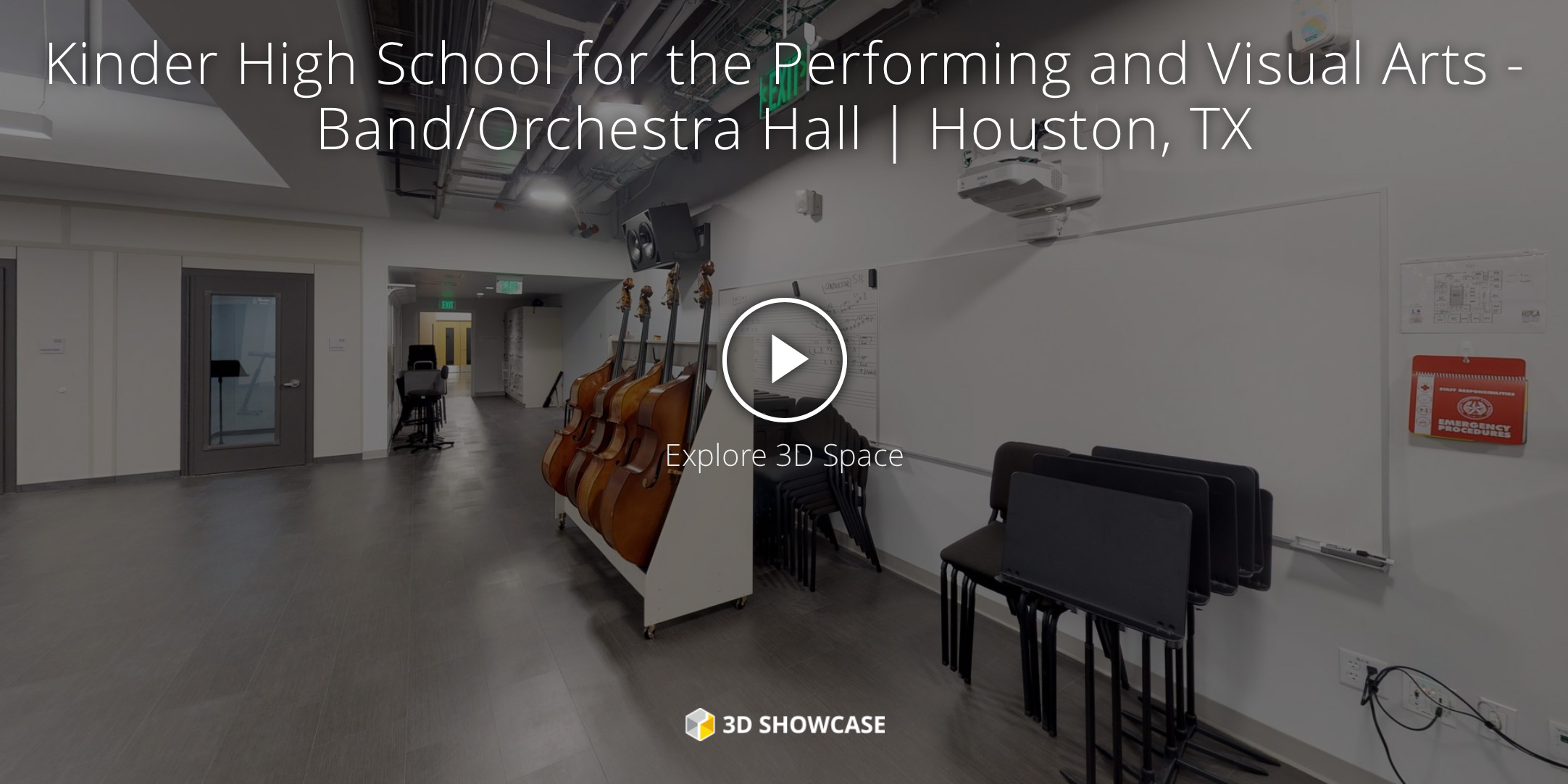 Kinder High School for the Performing and Visual Arts – Band/Orchestra Hall