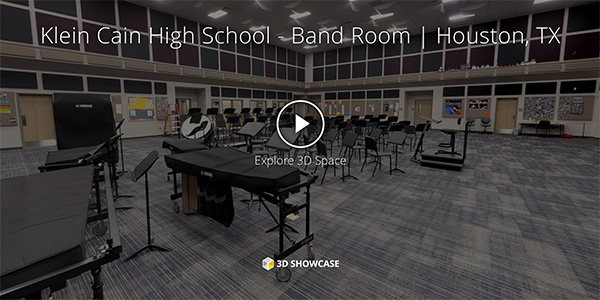 Klein Cain High School - Band Room | Houston, TX
