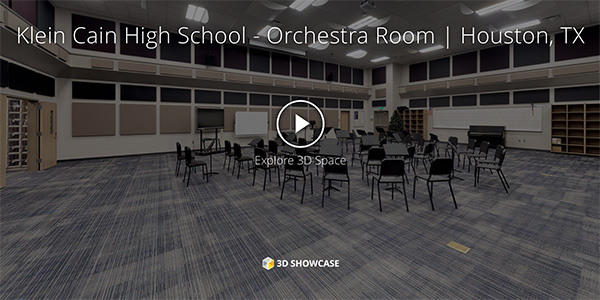 Klein Cain High School - Orchestra Room | Houston, TX