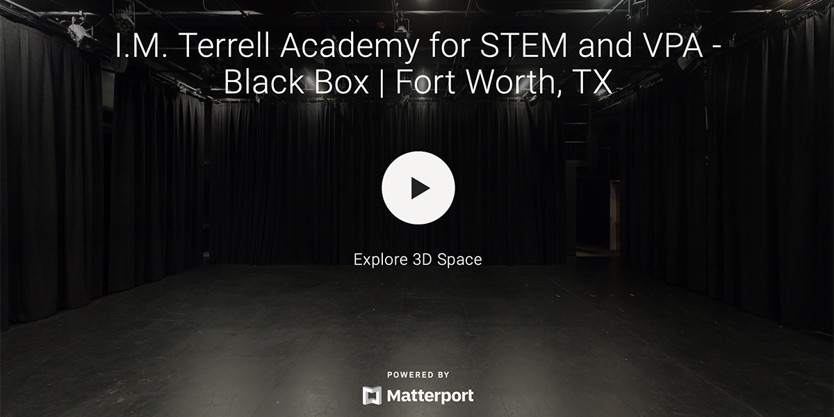 I.M Terrell Academy for STEM and VPA – Black Box Theatre