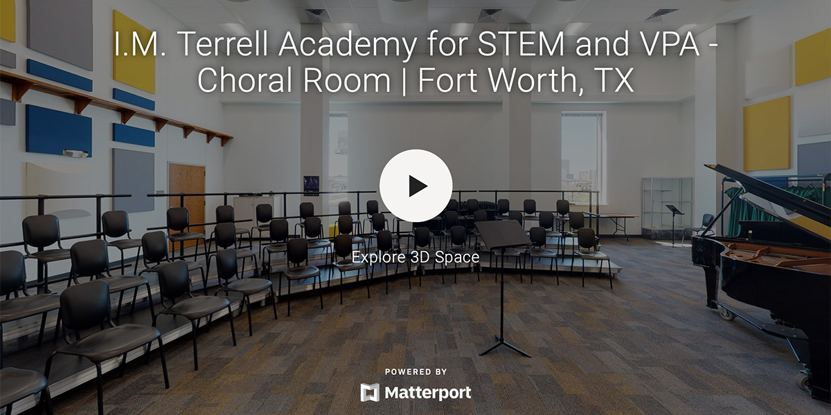 I.M Terrell Academy for STEM and VPA – Choral Room