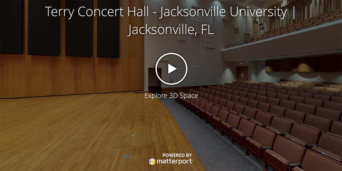 Terry Concert Hall - Jacksonville University