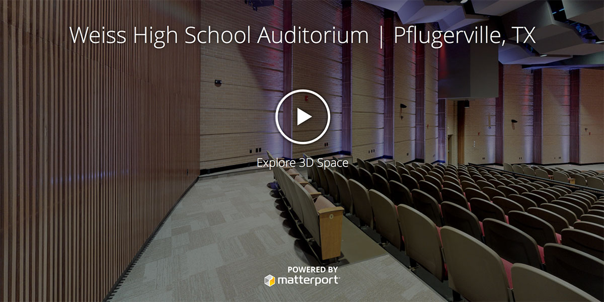 Weiss High School Auditorium | Pflugerville, TX